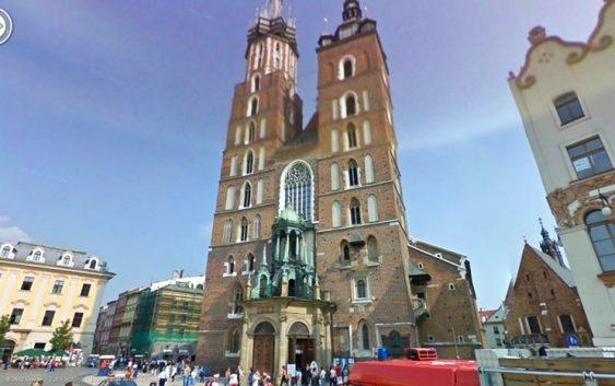 Kraków - wirtualne wycieczki street view